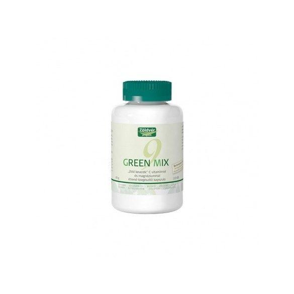 Zöldvér Green Mix 9 kapszula (60 g, 110 db)