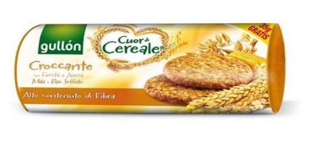 Gullón Élelmi rostban gazdag gabonakeksz puffasztott rizzsel (265 g)