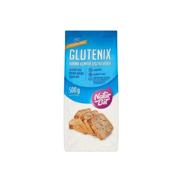 Glutenix Gluténmentes barna kenyér sütőkeverék (500 g)