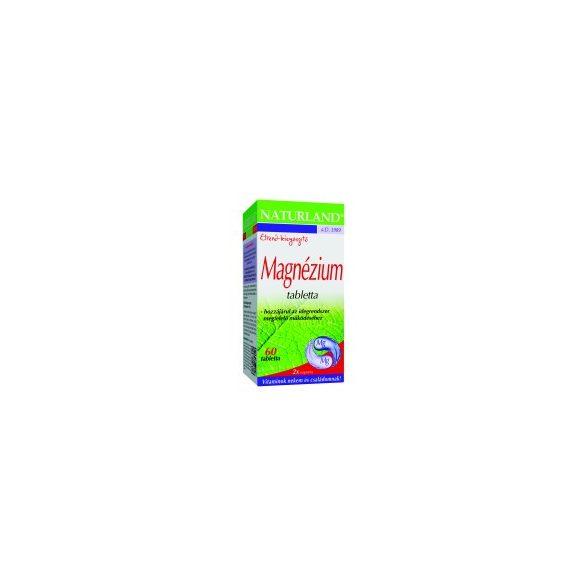 Naturland Magnézium tabletta (60 db)