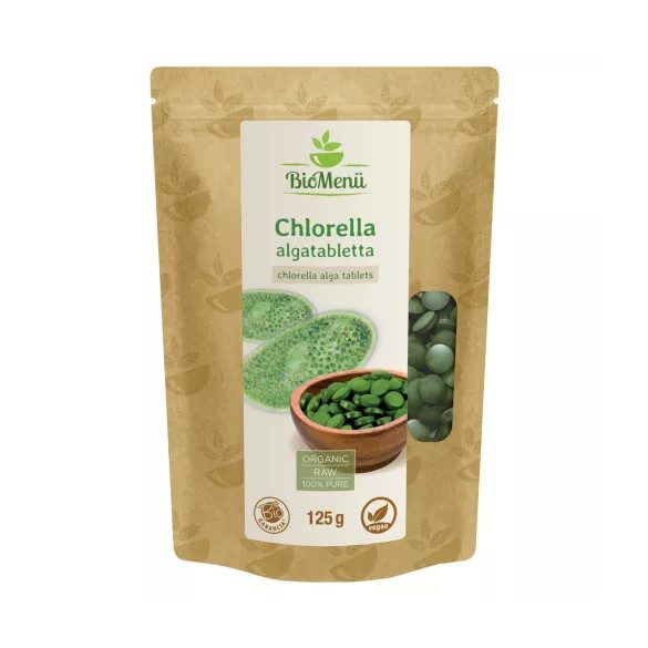 Biomenü bio chlorella tabletta (125 g)