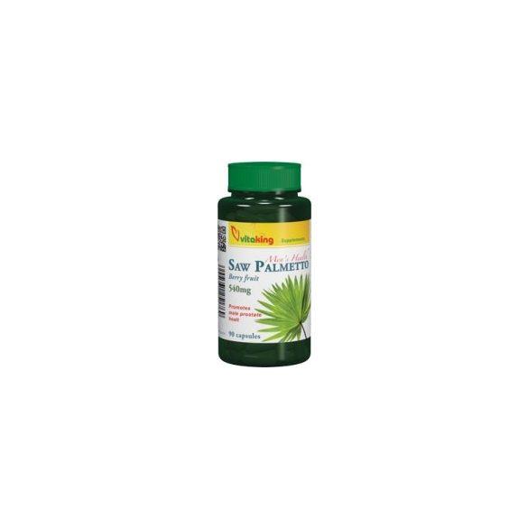 Vitaking Fűrészpálma 540 mg kapszula (90 db)