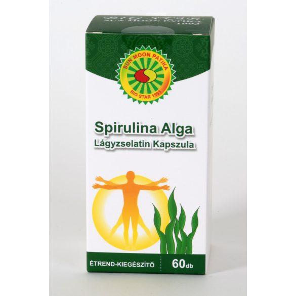 Sun Moon Zöld / Spirulina alga kapszula 1000 mg (60 db)