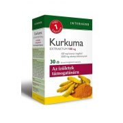 Interherb Napi 1 Kurkuma Extraktum 100 mg (30 db)