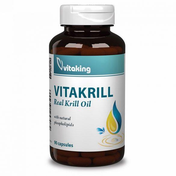 vitaking VITAkrill olaj gélkapszula (30 db)