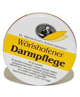 Wörishofeni Darmpflege emésztést segítő tabletta (42 db)
