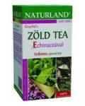 Naturland Zöld Tea echinaceaval, filteres (20 db x 2 g)