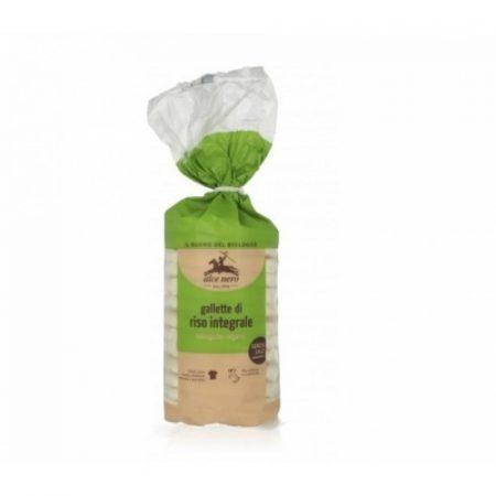 Alce Nero Bio Teljeskiőrlésű rizsszelet (100 g)