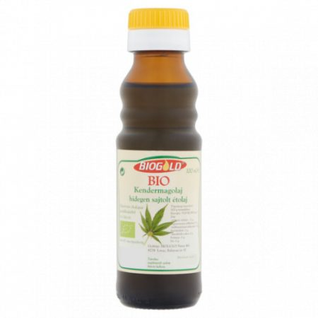Biogold Hidegen sajtolt bio kendermagolaj (100 g)