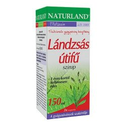 Naturland Lándzsás útifű szirup (150 ml)