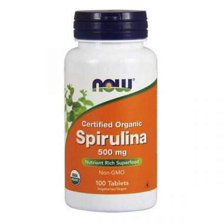 Now Spirulina tabletta (100 db)