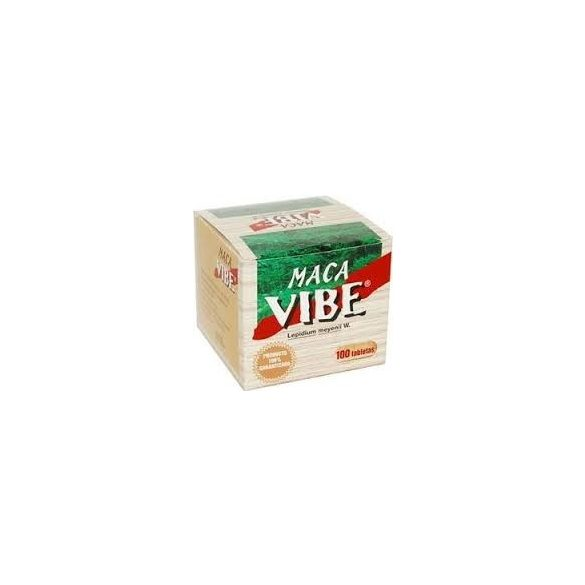 Maca Vibe Perui Zsázsa tabletta (100 db)