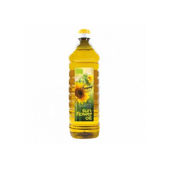 Biopont Bio Hidegen sajtolt napraforgó olaj (1000 ml)