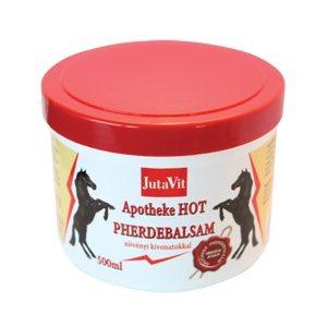 JutaVit Apotheke Lóbalzsam Hot (500 ml)