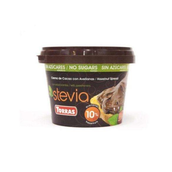 Torras Mogyorókrém steviával (200 g)