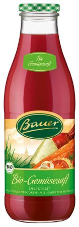 Bio Bauer 100-os zöldséglé (980 ml)
