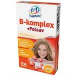 1x1 Vitaday B-komplex + folsav tabletta (30 db)
