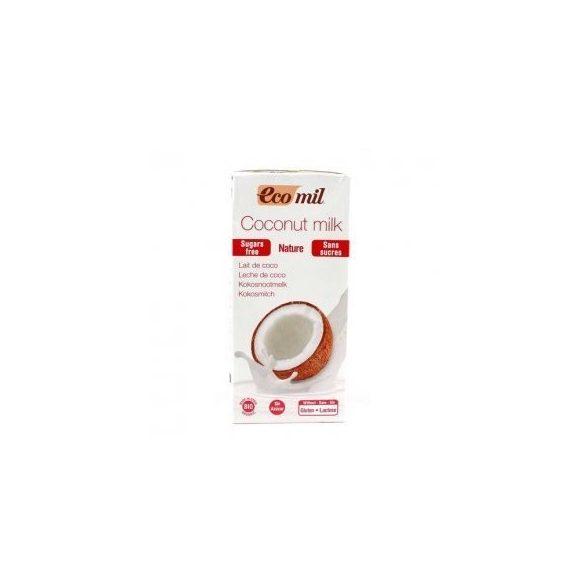 Bio EcoMil Kókusztej édesítő nélkül (1000 ml)