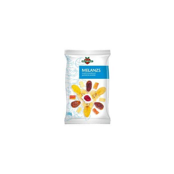Naturfood Melanzs szárított gyümölcskeverék (100 g)