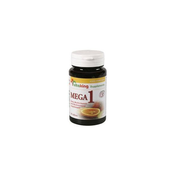 vitaking Mega-1 multivitamin tabletta (30 db)