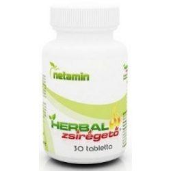 Netamin Herbal zsírégető tabletta (30 db)
