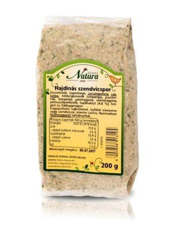 Natura Szendvicskrémpor, hajdinás (200 g)