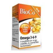 BioCo Omega 3-6-9 kapszula (60 db)