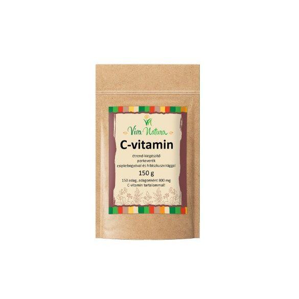 Viva Natura C-vitamin porkeverék csipkebogyóval és hibiszkusszal (150 g)