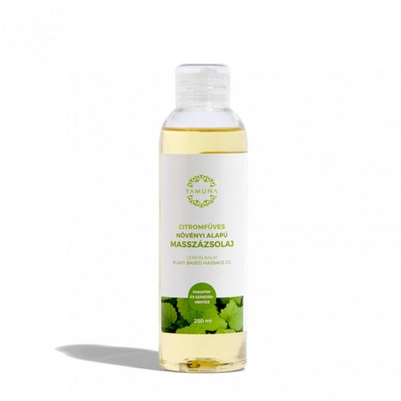 Yamuna Masszázsolaj citromfű (250 ml)