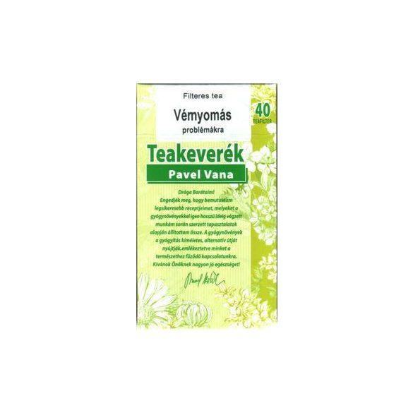 Pavel Vana tea Vérnyomás problémákra (40 db)