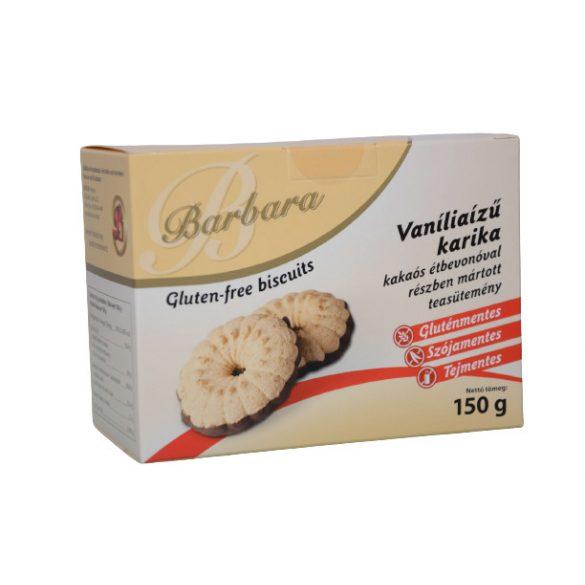Barbara gluténmentes vaníliás karika (180 g)