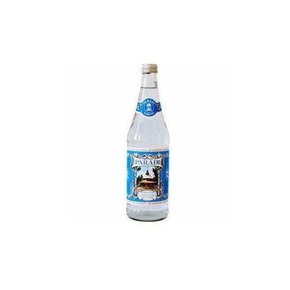 Parádi gyógyvíz kénes, üveges (700 ml)