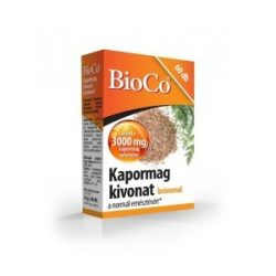 BioCo Kapormag kivonat tabletta krómmal (60 db)