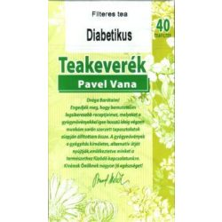 Pavel Vana tea DiaCare (40 db)