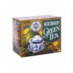 Mlesna Zöld tea Soursop  (50 filteres)
