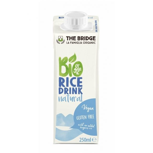 The Bridge Bio Rizsital Natúr (250 ml)