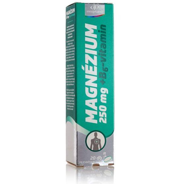 Innopharm Pezsgőtabletta Magnézium 250 mg + B6-vitamin (20 db)