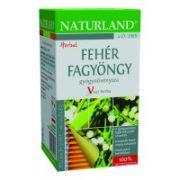 Naturland Fehér Fagyöngy Tea (25 filter)