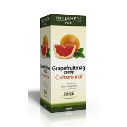 Interherb Vital Grapefruitmag csepp C-vitaminnal (20 ml)