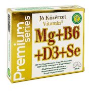 Jó Közérzet Vitamin® Prémium Mg+B6+D3+Se tabletta (30 db)