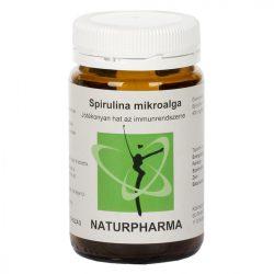 Naturpharma Spirulina tabletta (120 db)