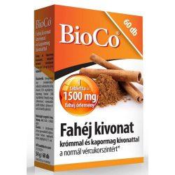 BioCo Fahéj kivonat tabletta (60 db)
