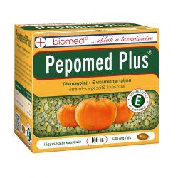 Biomed Pepomed Plus tökmagolaj + E-vitamin kapszula (100 db)