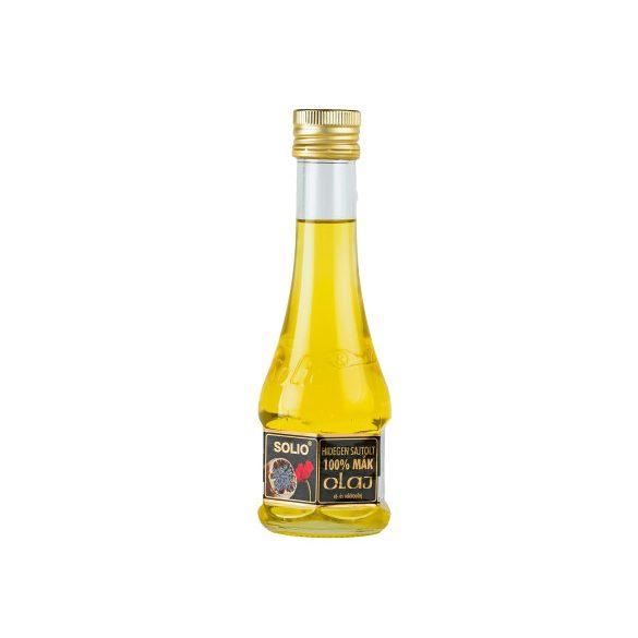 Solio Hidegen sajtolt Mák ét- és saláta olaj (200 ml)