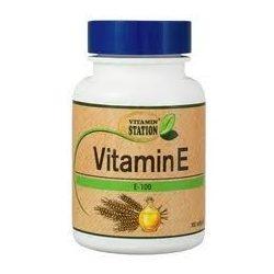 Vitamin Station E-vitamin 100IU géltabletta (100 db)