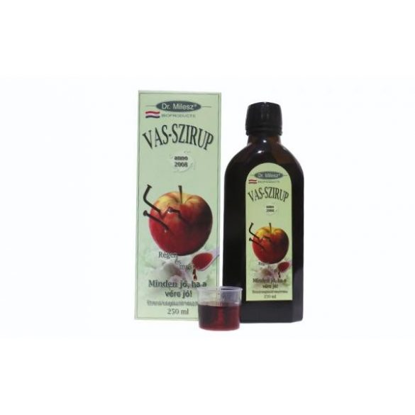 Dr. Milesz Vas szirup (250 ml)