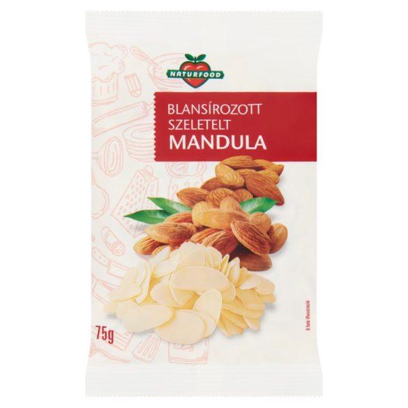 Naturfood Szeletelt mandula (75 g)