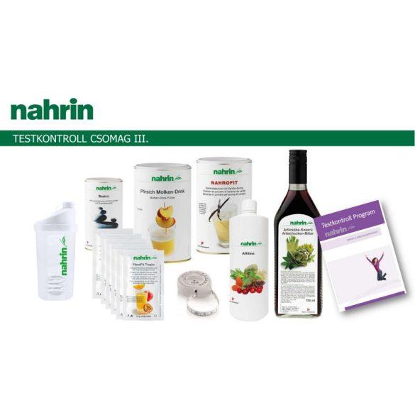 Nahrin Testkontroll csomag III. (6 féle termék+2 kiadvány)
