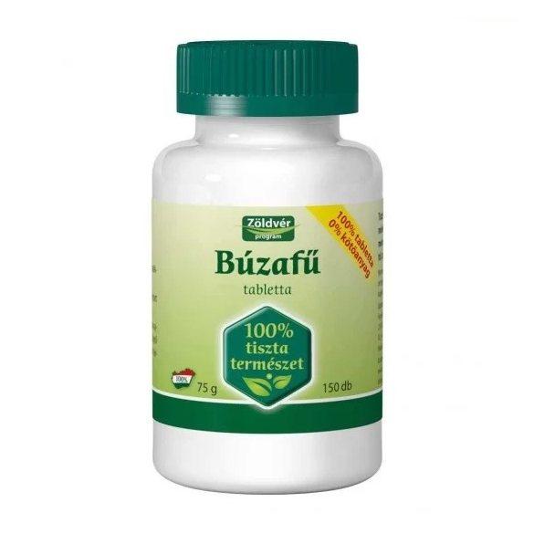 Zöldvér Búzafű 100 % tabletta (150 db)