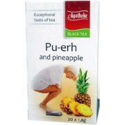 Apotheke Ananász ízű fűszeres Pu-erh filteres tea (20 db)